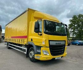 DAF CF 250 AUTOMATIC GEARBOX TAIL LIFT FITTED CURTAIN SIDER
