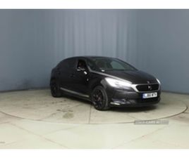 USED 2017 DS DS 5 PERF LINE BLUE HDI S/ HATCHBACK 33,347 MILES IN BLACK FOR SALE   CARSITE