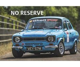 FORD ESCORT RS2000 NO RESERVE - GENUINE MK1 RS2000, GREAT HISTORY