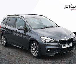 BMW 2 SERIES 220D XDRIVE M SPORT GRAN TOURER 2.0 5DR