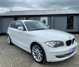 USED 2011 BMW 1 SERIES SPORT HATCHBACK 112,000 MILES IN WHITE FOR SALE | CARSITE
