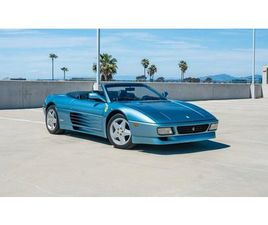 1994 FERRARI 348 SPIDER 6-SPEED MANUAL W/ ONLY 35,200 MILES