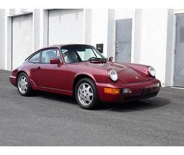1990 PORSCHE 964 964 CARRERA 4 COUPE