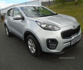 USED 2018 KIA SPORTAGE 1 CRDI ISG NOT SPECIFIED 23,500 MILES IN SILVER FOR SALE   CARSITE