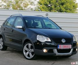 VW POLO *CROSS*, AN 2009, RECENT IMPORT, IMPECABIL!