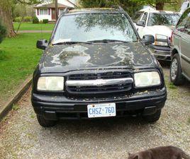 PRICE DROP!!! 2003 CHEVY TRACKER 4 WHEEL DR. $1800.00 | CARS & TRUCKS | ST. CATHARINES | K