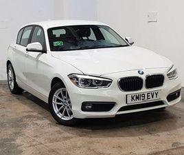 BMW 1 SERIES 118I [1.5] SE BUSINESS 5DR [NV/SERVOTRN] STEP AUTO