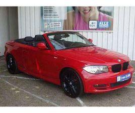 BMW 118 CABRIO ADVANTAGE KLIMA ALU SHZ PDC AHK ERST 50TK