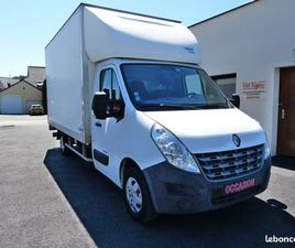 RENAULT MASTER III CAISSE HAYON 2.3 L DCI 150 20M3