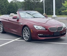 RED COLOR 2012 BMW 6 SERIES 650I FOR SALE IN ROCK HILL, SC 29730. VIN IS WBALZ3C52CC397836