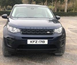 USED 2015 LAND ROVER DISCOVERY SPORT SE TD4 AU ESTATE 106,000 MILES IN BLUE FOR SALE | CAR