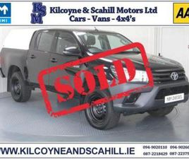 ACTIVE DOUBLE CAB 2.4 D-4D 150 *AIR CON + BLUETOOTH + REMOTE LOCKING*