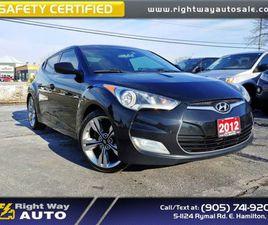 2012 HYUNDAI VELOSTER SPORT   NAV   BCK-UP CAM   SAFETY CERTIFIED   CARS & TRUCKS   HAMILT