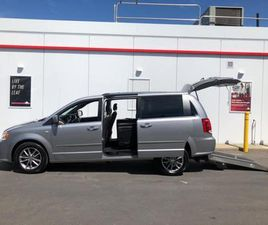 USED 2014 DODGE GRAND CARAVAN 30TH ANNIVERSARY-MOBILITY WHEELCHAIR VAN-ONLY 98KMS