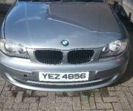 2009 BMW 116I SPORT MOT APRIL 2022