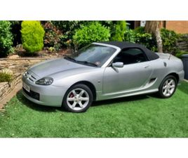 MGTF 135, 1.8 MANUAL, 44K MILES, 2 PREV OWNERS, FULL HISTORY, LEATHER