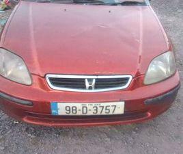 HONDA CIVIC E6 EJ9 HATCHBACK 1998 SRS 3 DOOR FOR SALE IN LIMERICK FOR €2,000 ON DONEDEAL