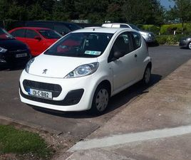2013 PEUGEOT 107 1L 39K FULL HISTORY NEW NCT 6.23 FOR SALE IN CORK FOR €5,750 ON DONEDEAL