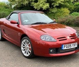 USED 2005 MG MGTF MGTF 135 SPARK 2DR NOT SPECIFIED 751 MILES IN RED FOR SALE   CARSITE