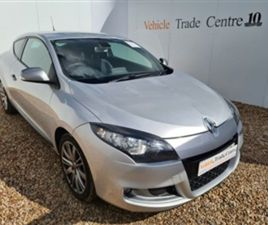 USED 2011 RENAULT MEGANE 1.4 GT LINE TOMTOM TCE 3D 130 BHP COUPE 54,000 MILES IN SILVER FO