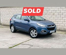 HYUNDAI IX35, 2013 EXECUTIVE FOR SALE IN KILDARE FOR €10,950 ON DONEDEAL