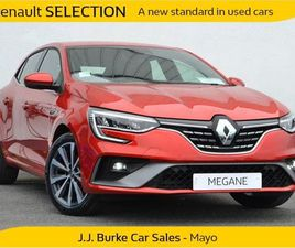 RENAULT MEGANE R.S. LINE TCE 140BHP ORDER YOURS FOR SALE IN MAYO FOR €30,540 ON DONEDEAL