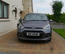 USED 2014 HYUNDAI I10 SE AUTO HATCHBACK 21,000 MILES IN GREY FOR SALE | CARSITE