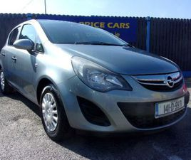 OPEL CORSA, 2014 1.0 PETROL 5 DOOR FOR SALE IN DUBLIN FOR €6,450 ON DONEDEAL