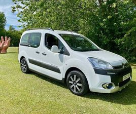 13 62 CITROEN BERLINGO XTR OUTDOOR SPORT ADVENTURE + LIKE A 4X4 EXTREMELY RARE 1 OWNER LOW