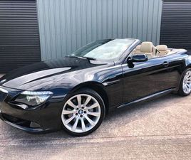 BMW 635D SPORT AUTO CABRIOLET *2 OWNER / 2 KEYS* FOR SALE IN DOWN FOR £9,450 ON DONEDEAL