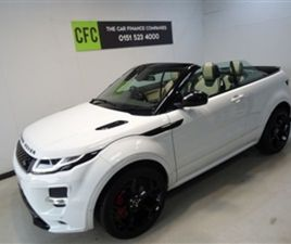 USED 2017 LAND ROVER RANGE ROVER EVOQUE 2.0 CONVERTIBLE 11,250 MILES IN WHITE FOR SALE | C