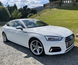 USED 2020 AUDI A5 SPORT 40 TDI S-A HATCHBACK 11,500 MILES IN WHITE FOR SALE | CARSITE