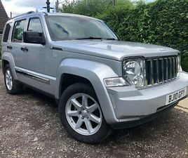2010 (10) JEEP CHEROKEE LIMITED 2.8 CRD 174 BHP NO RESERVE SPARES OR REPAIR