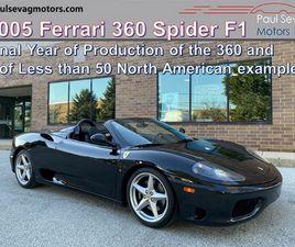 2005 FERRARI 360 SPIDER F1