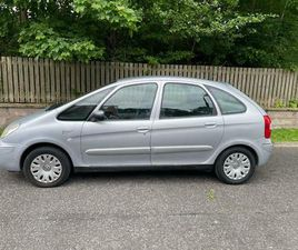 ( DIESEL ESTATE )CITROEN XSARA PICASSO DESIRE 2HDI, ONE OWNER FROM NEW, 68K MILES