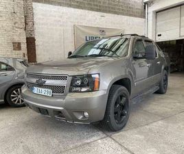 CHEVROLET AVALANCHE FULL OPTIONS EQUIPEE' LPG 150000 KM COMME NEUFS