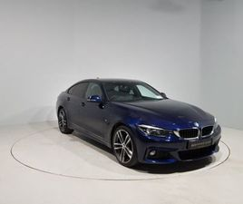 BMW 4 SERIES 420D XDRIVE M SPORT GRAN COUPE FOR SALE IN CORK FOR €36,900 ON DONEDEAL