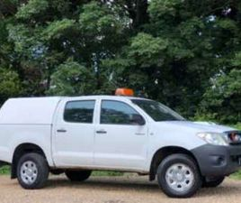 HL2 2010 D/CAB PICK UP 2.5 D-4D 4WD 144 [2011-61]