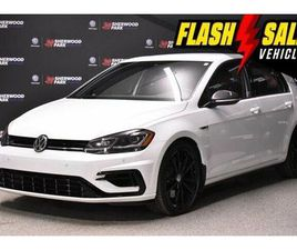 2019 VOLKSWAGEN GOLF R 2.0 TSI * CARBON STYLE PACK * DRIVERS | CARS & TRUCKS | STRATHCONA
