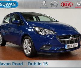 OPEL CORSA SC 1.4 (75PS) 5DR E BLUETOOTH CRUISE FOR SALE IN DUBLIN FOR €13,450 ON DONEDEAL