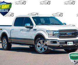 USED 2018 FORD F-150 KING RANCH   TECH PACKAGE   PANO ROOF +++