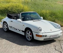 USED 1990 PORSCHE 911 911 964 CARRERA 2 CABRIOLET CONVERTIBLE 180,000 MILES IN WHITE FOR S