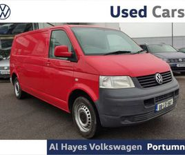 VOLKSWAGEN TRANSPORTER LWB 2800 75KW FOR SALE IN GALWAY FOR €8,450 ON DONEDEAL