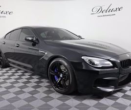 2018 BMW M6 GRAN COUPE