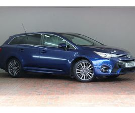 2018 TOYOTA AVENSIS 1.8 V-MATIC EXCEL TOURING SPORTS 5D CVT - £19,699