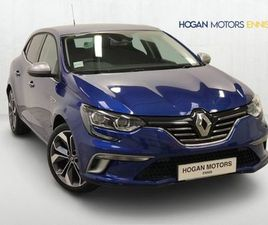 RENAULT MEGANE GT- LINE TCE 140 PETROL 202 D REG FOR SALE IN CLARE FOR €24,950 ON DONEDEAL