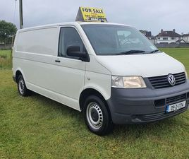 2009 TRANSPORTER 2.5 LWB DOE MINT CONDITION FOR SALE IN DUBLIN FOR €7,550 ON DONEDEAL