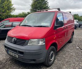 VW TRANSPORTER 1.9 TDI SWB TAX AND TESTED FOR SALE IN CARLOW FOR €5,250 ON DONEDEAL