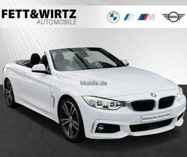 BMW 425D CABRIO M SPORT LED HUD HIFI KOMFORTZ. RKF