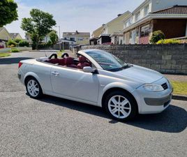 04 RENAULT MEGANE CONVERTIBLE NCTD 11/21 FOR SALE IN DUBLIN FOR €1,250 ON DONEDEAL